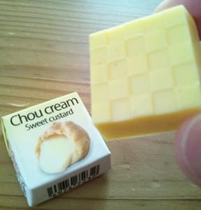 チロルチョコ シュークリーム