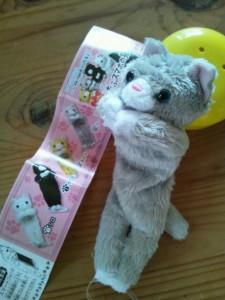 もふもふスマホの猫1
