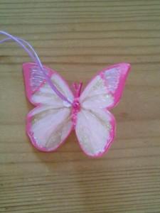 蝶ストラップ2